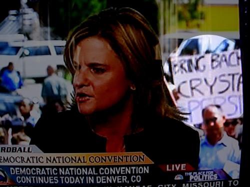 dnc protest 500x375 DNC Protester wtf