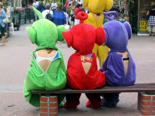 Slutty Teletubbies  The Real Teletubbies Television Technology Sexy