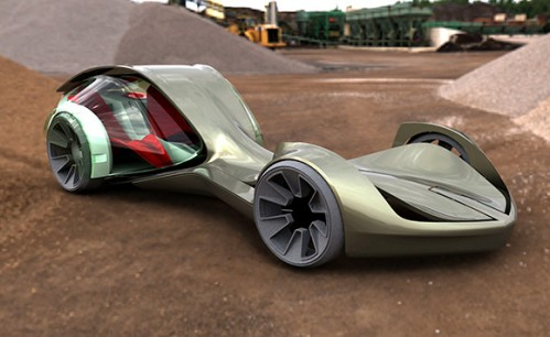 Enigma 499x306 Funky Green Concept Cars Science! Cars
