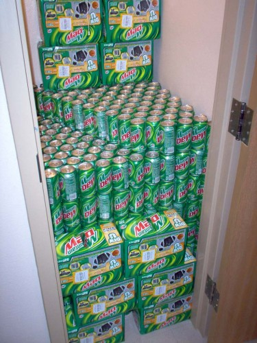 dewcloset 375x500 Mountain Dew Closet wtf Food