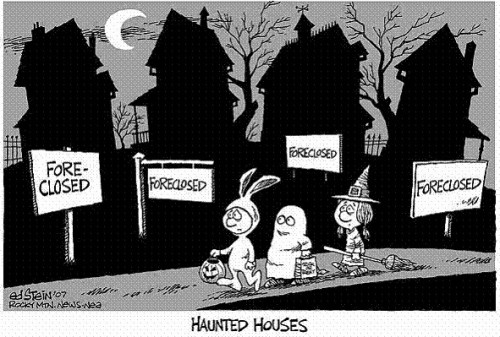 halloween forclosures 500x337 Why Halloween Will Suck Ass This Year Sad :( Dark Humor