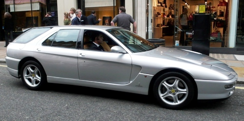 ferrari 456 venice station wagon 1 Lambomination wtf Cars