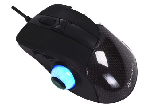 ravenmousemain Silverstone Raven Gaming Mouse wtf Computers
