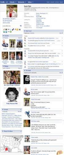 palin facebook 2 208x500 Sarah Palins Facebook Politics Humor