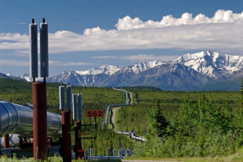 Alaska Pipeline 500x335 Alaskan Oil Pipeline wtf Technology