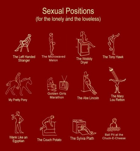 sexual positions for the loveless 462x500 Sexual positions for the lonely and loveless Sad :(