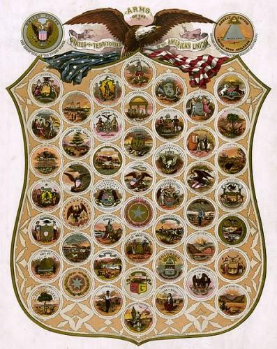 477px Emblems of USA 1876 (original) 397x500 The seals of the U.S. states as of 1876 wtf Politics