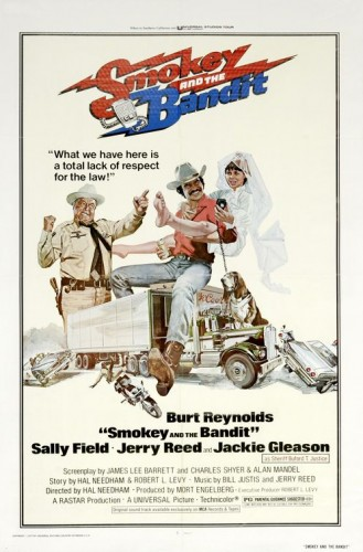 smokey and the bandit 329x500 Smokey and the Bandit  Movie posters