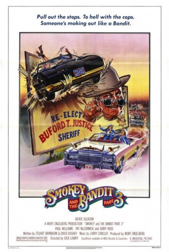 smokey and the bandit part three ver2 336x500 Smokey and the Bandit  Movie posters