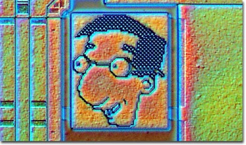 milhouse Milhouse Microchip Art Art