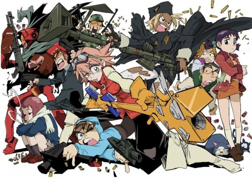 FLCL 500x354 FLCL wtf Television funny Fantasy   Science Fiction Art
