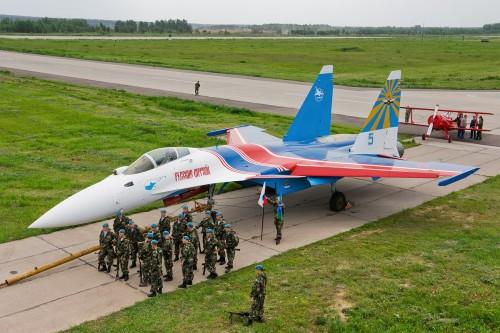 su 273 500x333 Sukhoi SU 27 flanker Military