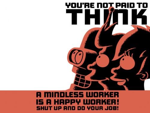 futurama 500x375 Futurama Sign Wallpaper Humor