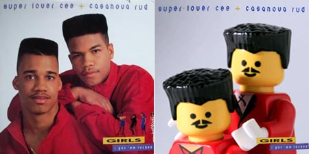 Minifig 4 Music Album Recreated with Lego Minifigs Music Legos