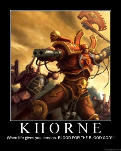 40kKhorne01 400x500 Khorne Warhammer 40k