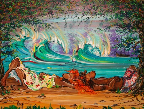 Imagine 500x378 Surf Art Art