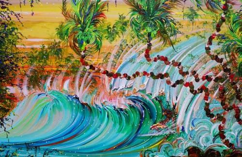 UnderThePalms 500x325 Surf Art Art