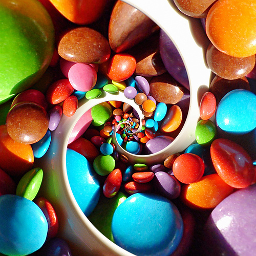 spirals6smarties spirals wtf Science!