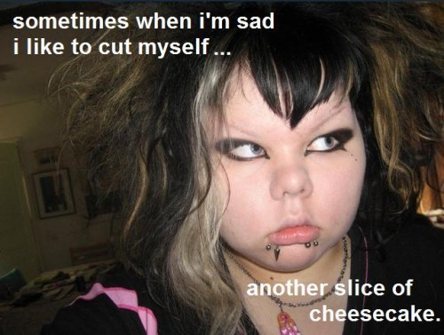 3888 500x377 Sometimes when Im sad I like to cut myself...another piece of cheesecake forum fodder