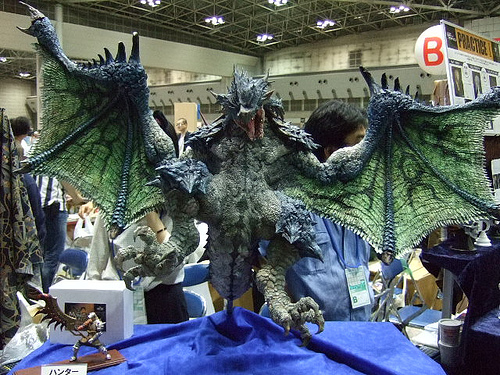 rathian scale model monster hunter Gaming