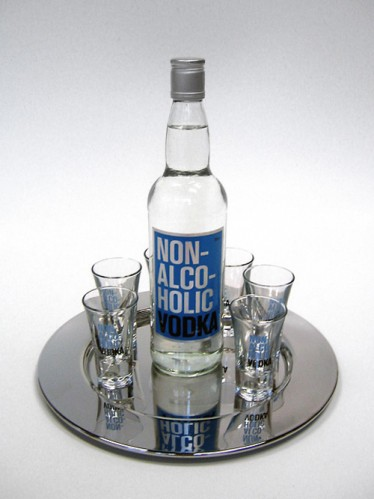 vodkatray 374x499 Non alcoholic vodka wtf Alcohol