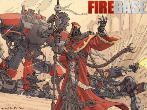 issue8cover1600x1200 500x375 Adeptus Mechanicus Warhammer 40k Wallpaper Science! Gaming Fantasy   Science Fiction