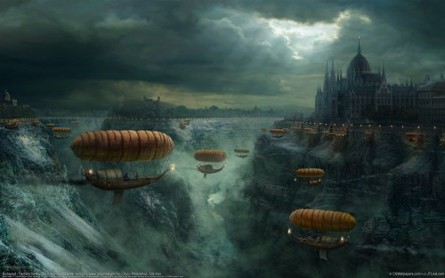 cgw 500x312 Budapest Fantasy Wallpaper Wallpaper Fantasy   Science Fiction