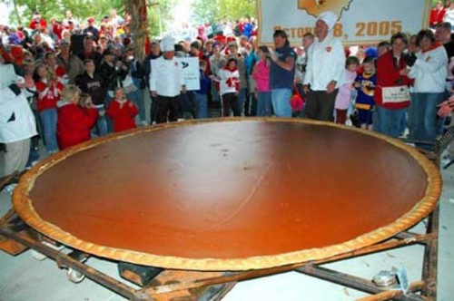worlds pumpkin pie 500x332 Worlds largest wtf Humor Food