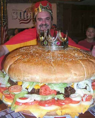 worlds biggest hamburger 405x500 Worlds largest wtf Humor Food