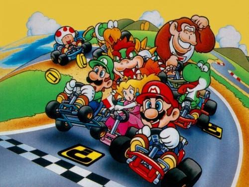 mario kart 64 500x375 Mario Kart 64 Gaming Advertisements