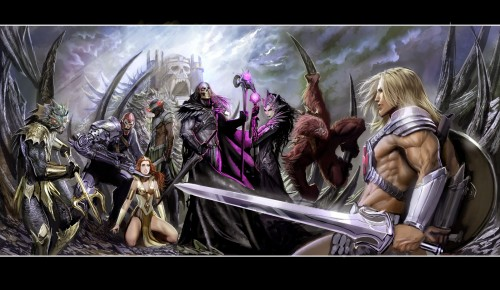he man by nebezial 500x290 He Man and She Ra Wallpaper Television Comic Books