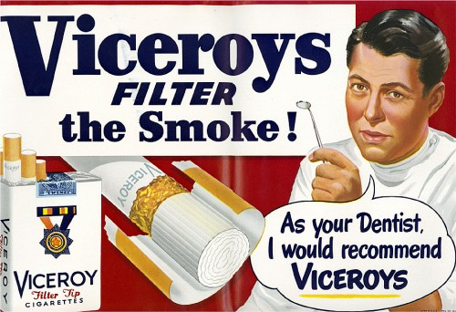 dentistreccomendedL 500x342 Viceroys Filter The Smoke! wtf Advertisements