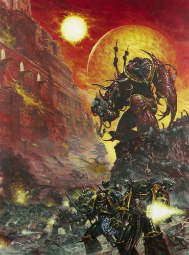 chaos1 370x500 Chaos Space Marine Warhammer 40k