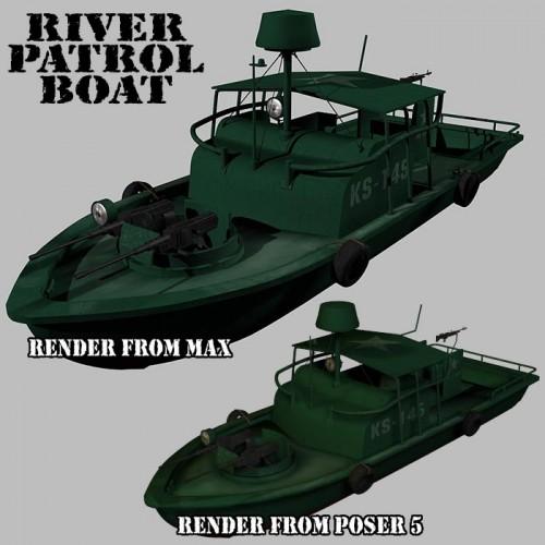 RPB2 500x500 River Patrol Boat RPB Military