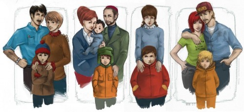 southpark real 500x230 South Park Families Television