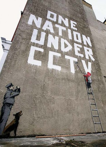 banksy one nation under cctv 2 363x500 One nation under CCTV Sad :( Politics
