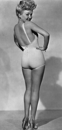 BettyGrable1943 239x500 More Classic Beauties Sexy Josephine Baker Ingrid Bergman Grace Kelly Cyd Charisse Betty Grable