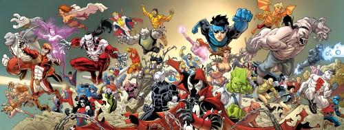 60coverFINAL 500x189 Invincible #60 cover Wallpaper Comic Books