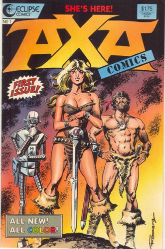 Axa1 331x500 AXA   first issue Sexy Comic Books