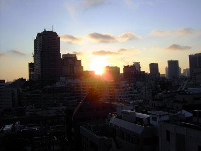 tokyo sunrise2 Tokyo Sunrise Aerial