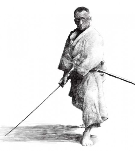 Samurai by Fruelund 448x500 Samurai Art