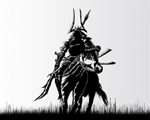 Samurai by lloydy 500x400 Samurai Art