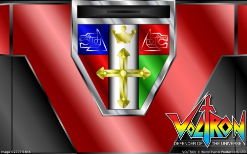 Voltron Crest Wallpaper (1680x1050) NN 500x312 Voltron Royal Crest Wallpaper red