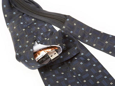 tie spycam 4 Hidden Necktie Camera For Corporate Spying Technology