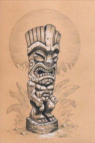 Jungle Tiki 334x500 More Parker Tikis Tiki