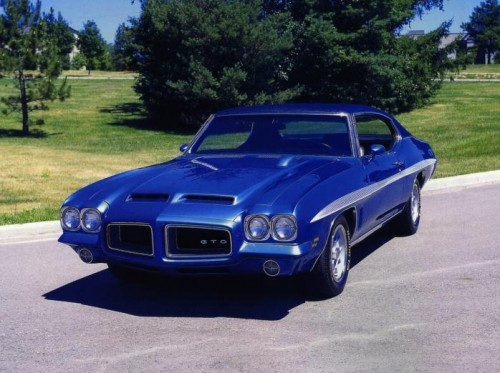 72gto1 500x373 Beautiful Blue Rides. . . Sexy Cars blue