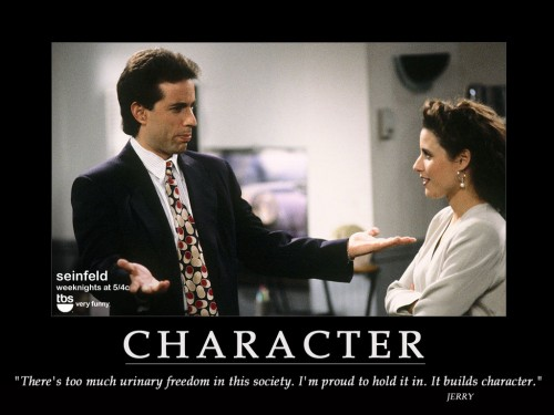 character jerry Seinfeld 500x375 Character Television Motivational Posters Humor