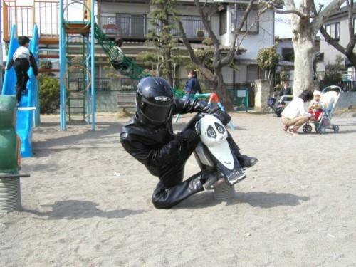 Stig playground 500x375 Black Stig lives! Television Humor