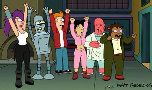 futurama 500x298 Futurama Television