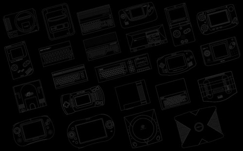 consoles 500x311 Consoles background/wallpaper (small size) Wallpaper Gaming